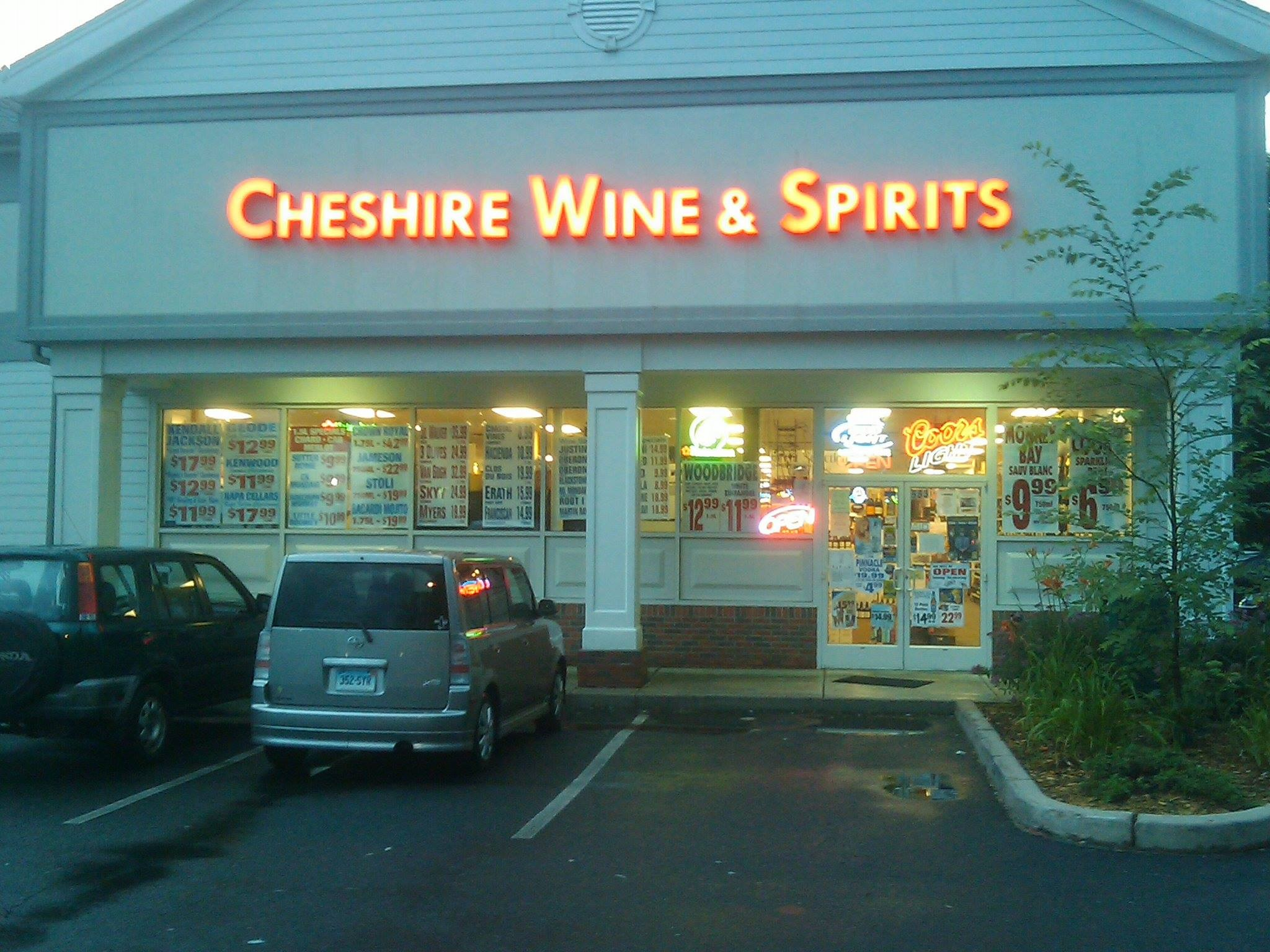Chashire Wine & Sprits